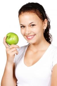 Smiles, apples